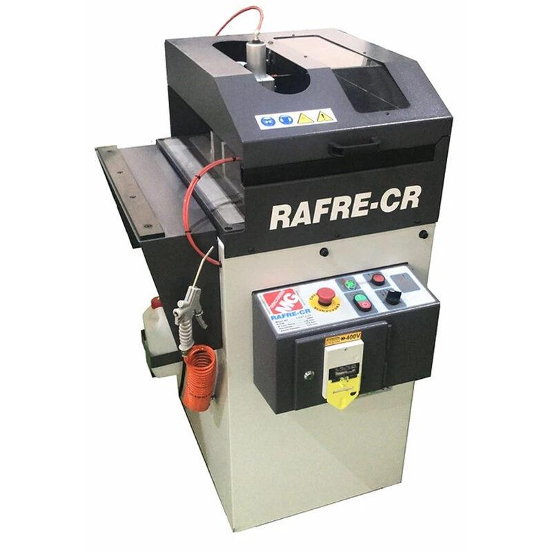 RAFRE CR-SA Ročni kotni rezkalni stroj za aluminij / PVC