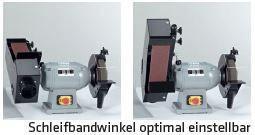 Kombinirana brusilna plošča in brusilni trak ELMAG KSM 1000/150 N