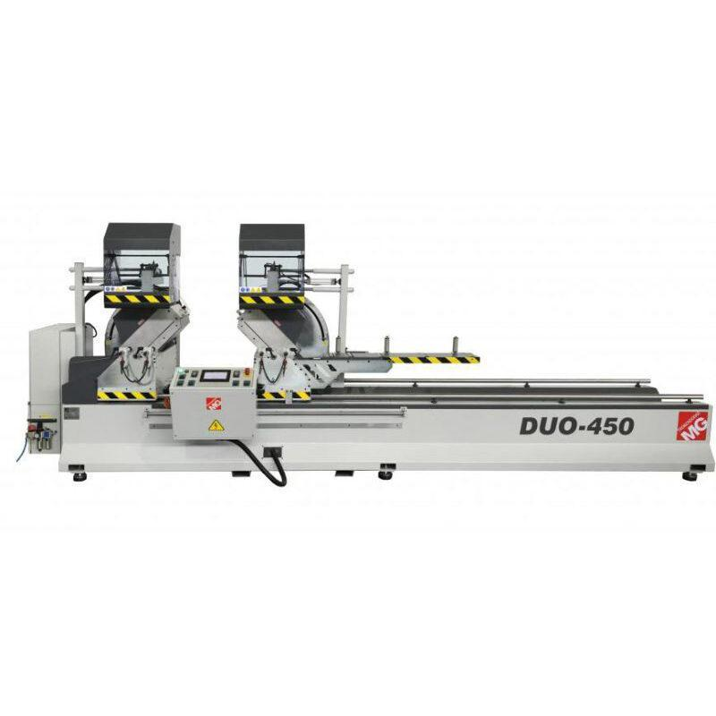 Avtomatična krožna žaga za razrez profilov DUO-450