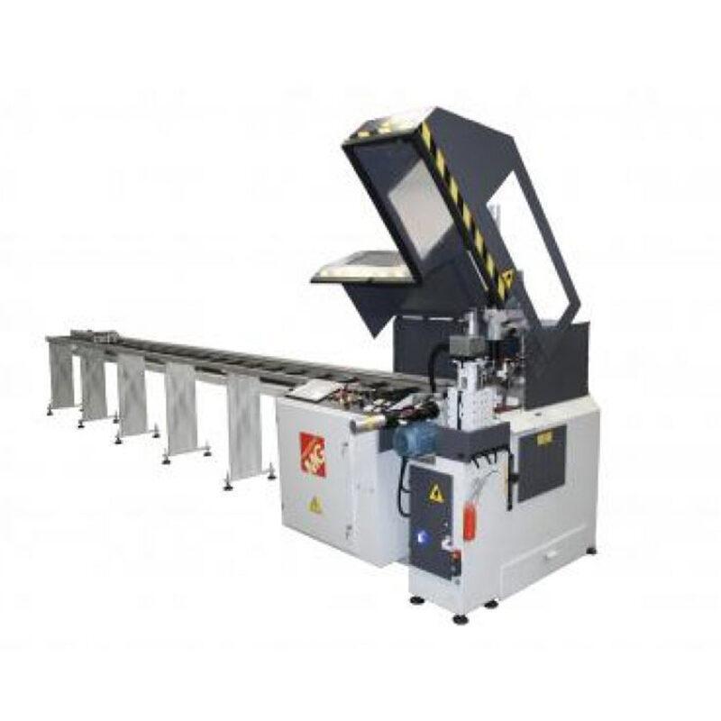 Avtomatska krožna žaga z vrtalnim sistemom GAA-350-90 CNC + TR12+TR12 3 AXIS