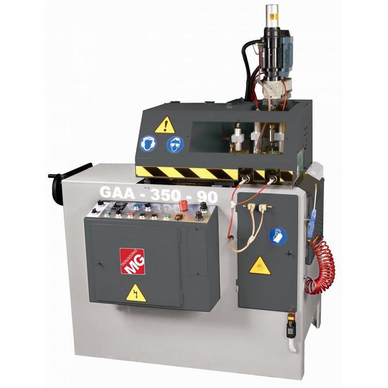 Avtomatska krožna žaga in vrtalni stroj za obdelavo profilov GAA-350-90-TR12
