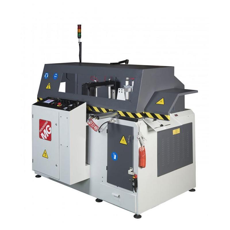 Krožna žaga z CNC krmiljenjem za razrez ALU profilov GAA-650-90-CNC