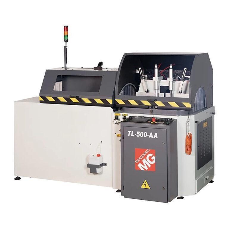 TL-500-AA CNC avtomatski aluminijasti Rezalni stroj z načrtovanjem dolžine in stopinj